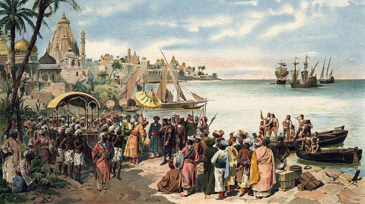 Португальский флот в Индии