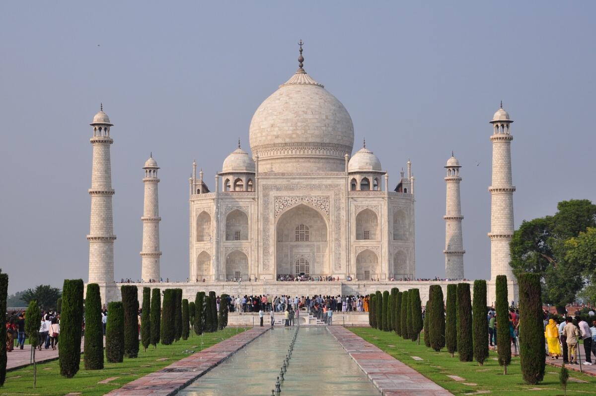 Тадж-Махал, Дели, Индия