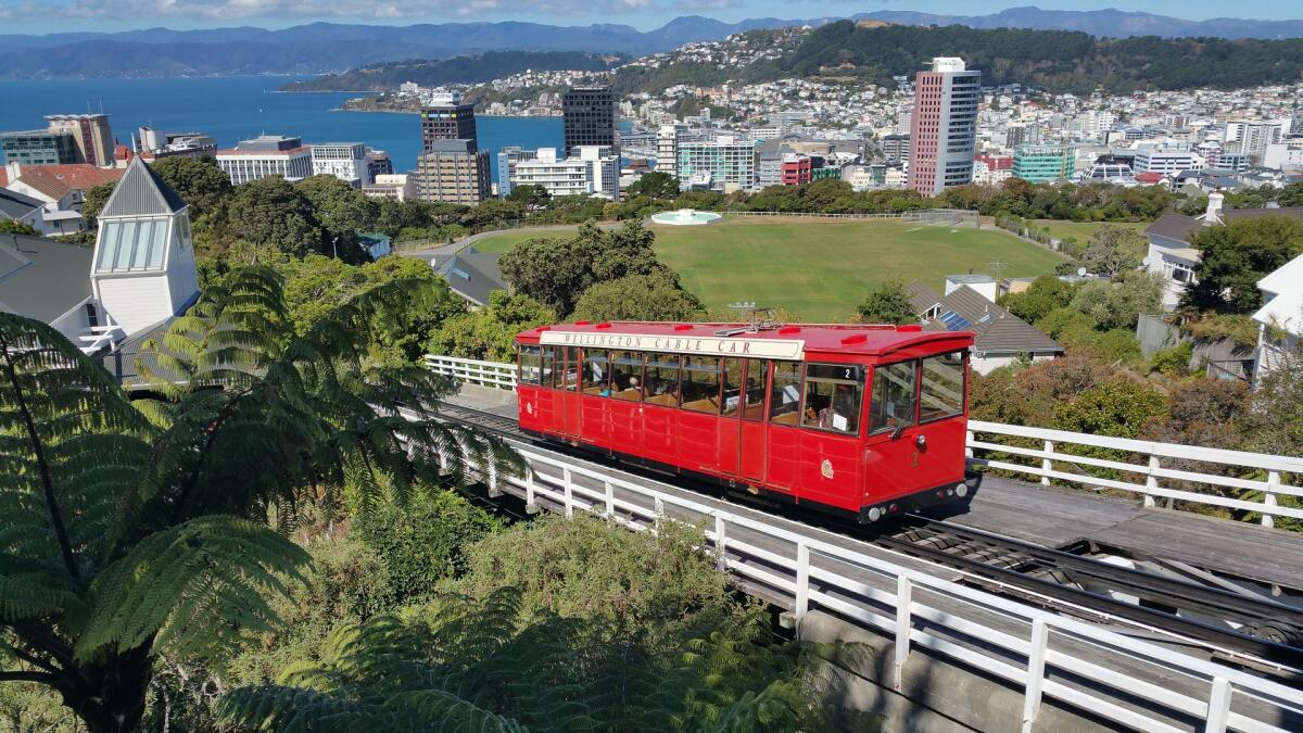 Вид на Веллингтон, Новая Зеландия