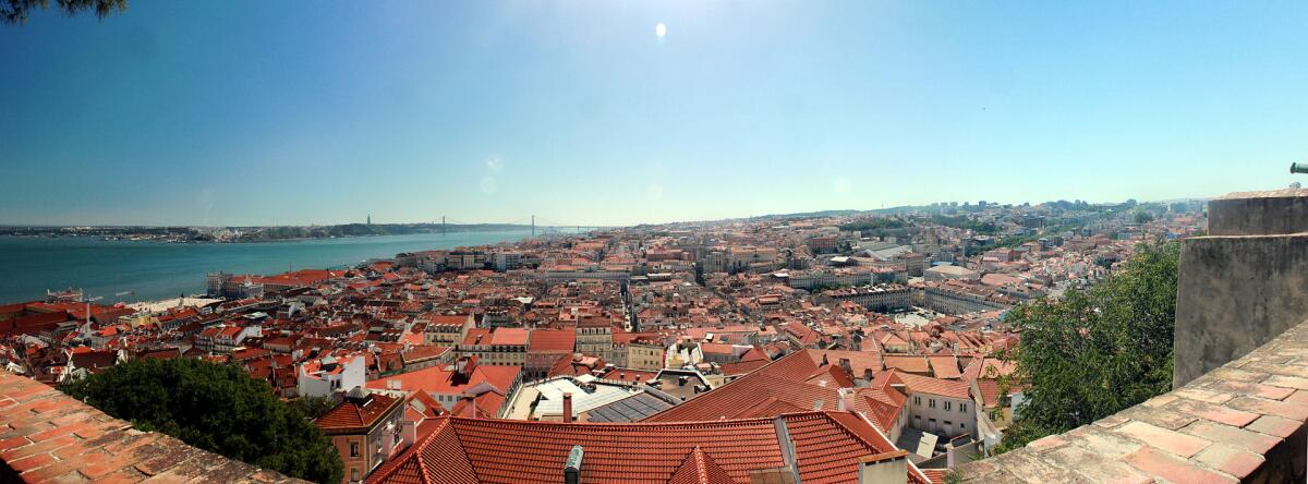 Панорама Лиссабона, современность