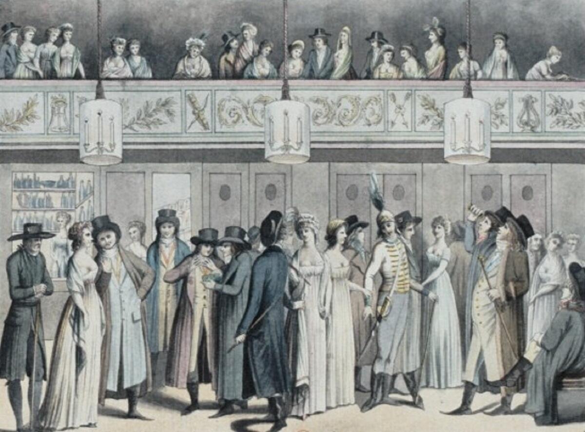 Луи Бине, Фойе театра Монтансье, Национальная библиотека Франции
