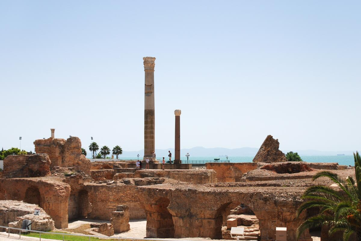 Руины Карфагена, современность