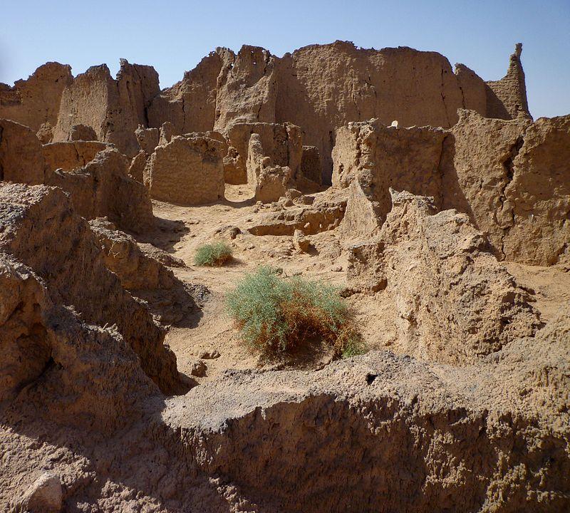 Руины Гарамы — столицы государства гарамантов