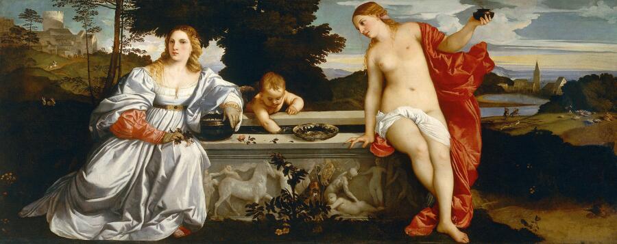 Тициан, «Любовь земная и Любовь небесная», 1514