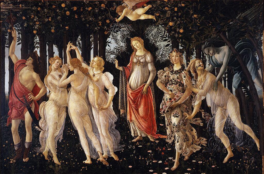 С. Боттичелли, «Весна», 1482