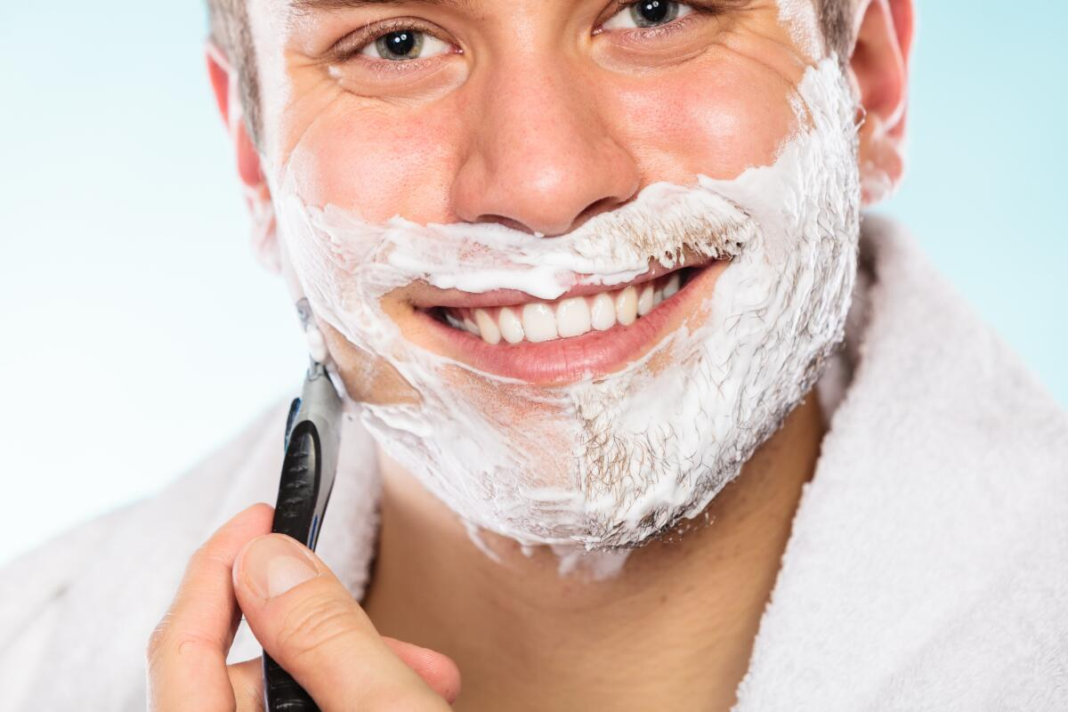 the importance of shaving