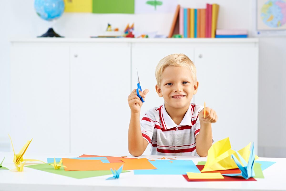 Оригами развивает воображение, концентрацию внимания и память