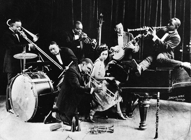 Джаз-бэнд, США, ХХ век