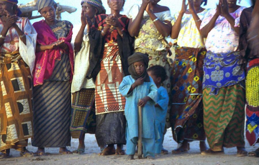 Туареги, женщины и дети, Нигерия, 1997