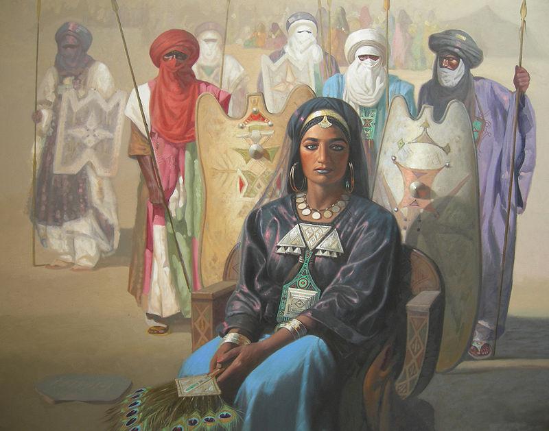 Х. Зиани, «Тин-Хинан»— полулегендарная царица туарегов
