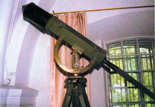 Ракета на станке конструкции К.И. Константинова