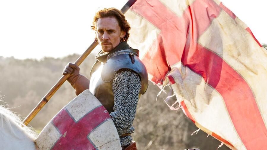 Генрих V в исполненни Тома Хиддлстона