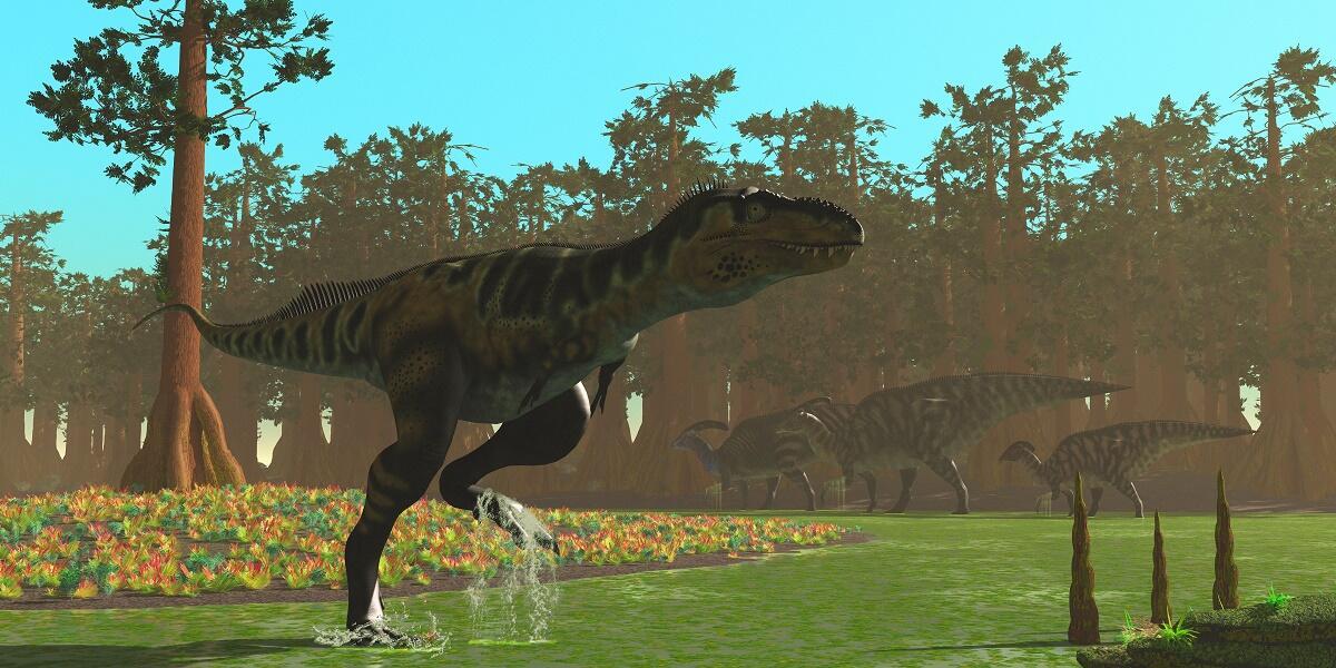 Динозавры вымерли во время последнего катаклизма