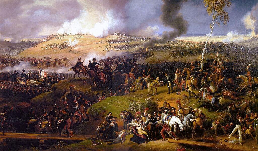 Бородинское сражение, картина Луи Лежена