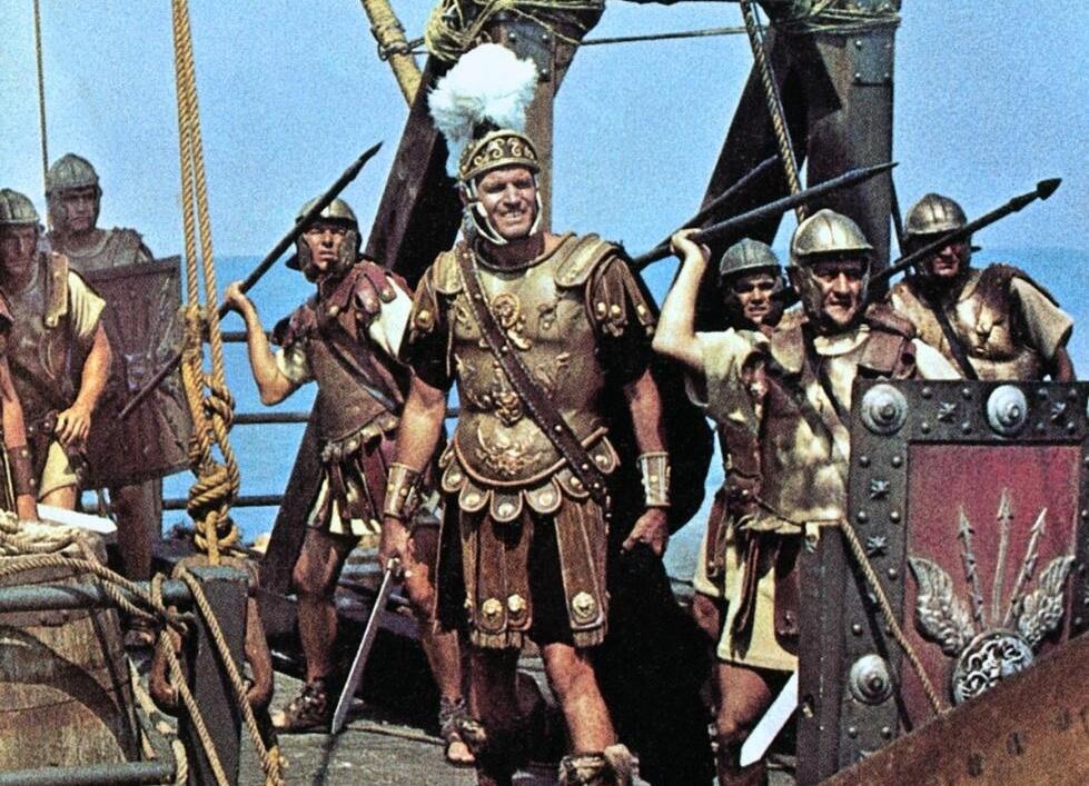 Кадр из фильма «Антоний и Клеопатра», 1972г
