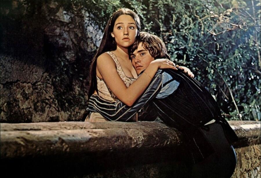 Кадр из фильма «Ромео и Джульетта», 1968 г.
