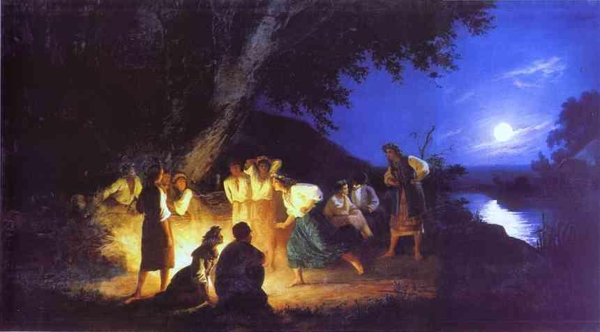 Картина «Ночь на Ивана Купалу», Генрих Семирадский