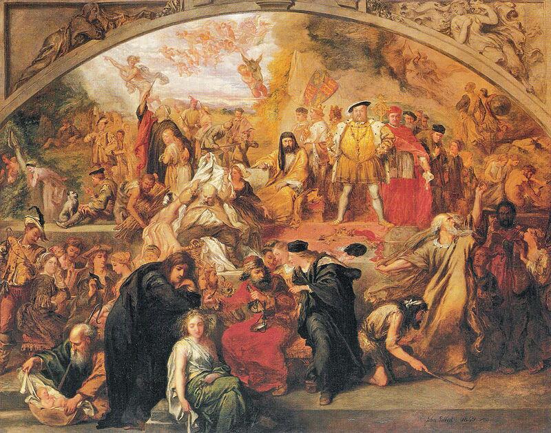 «Пьесы Уильяма Шекспира», Джон Гилберт, 1849 год