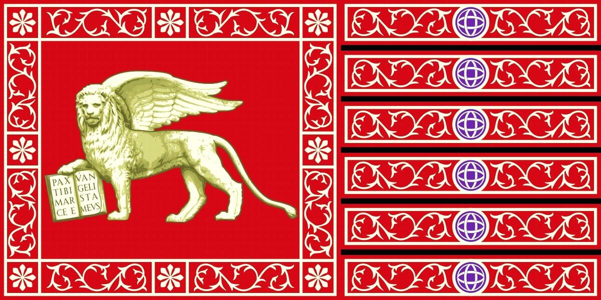 Флаг Венеции.