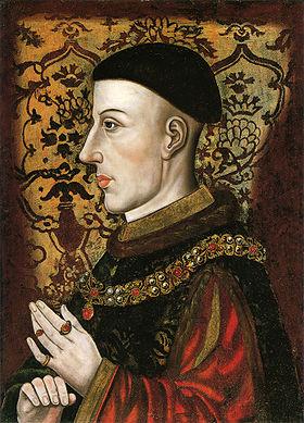 Портрет Генриха V, автор неизвестен