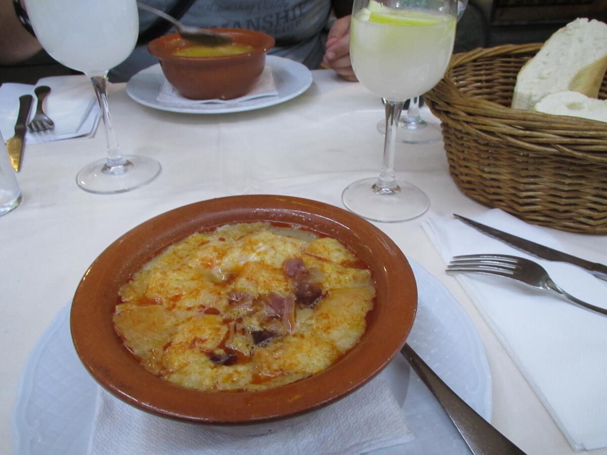 Чесночный суп— Sopa de ajo