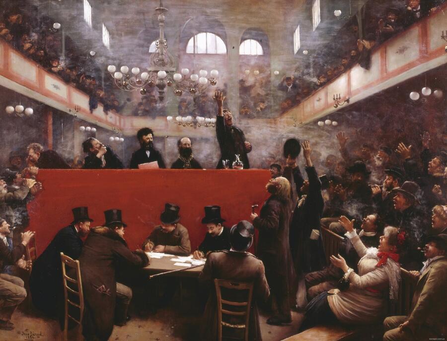 Жан Беро, Зал Граффард, 1884, частное собрание