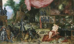 Ян Брейгель и Рубенс, «Осязание». Как они это видели?