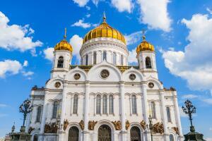 Современный облик храма Христа Спасителя