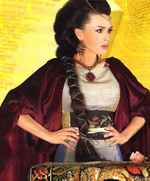 Анастасия Заворотнюк в образе Катарины