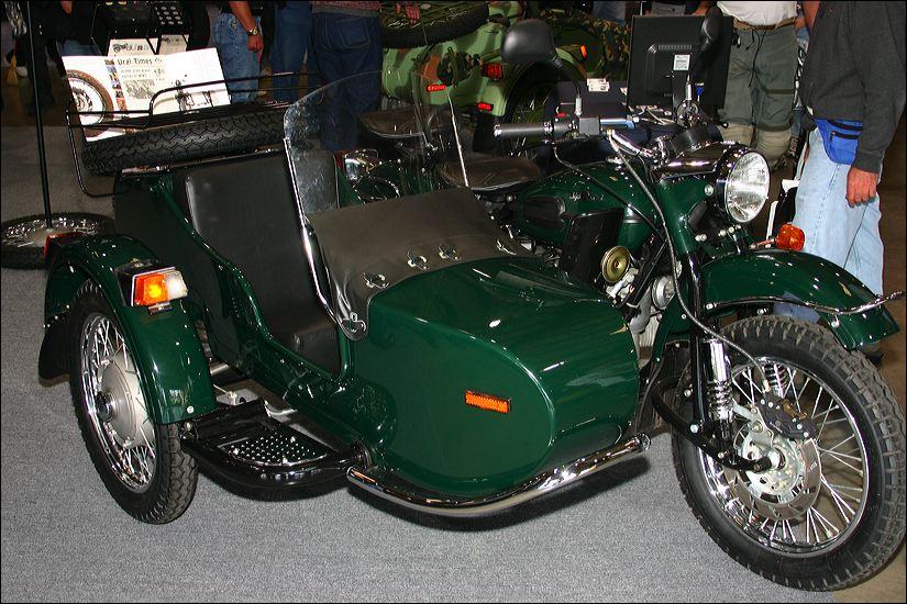 Мотоцикл Урал, Россия