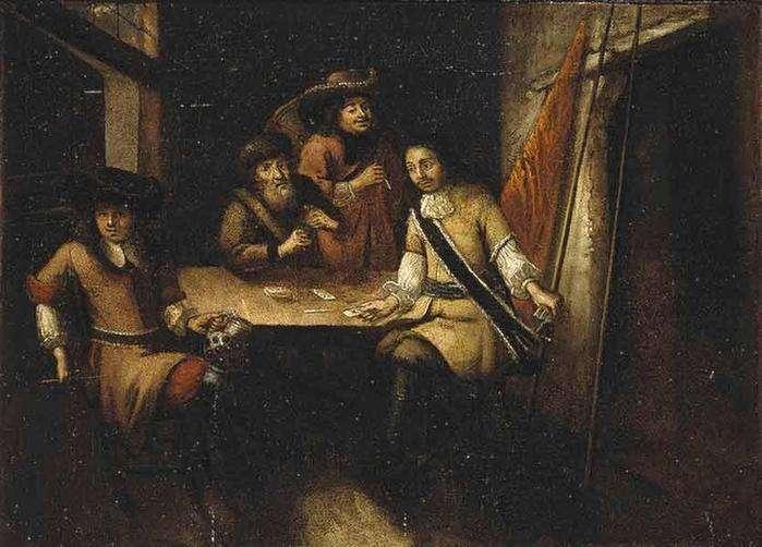 Неизвестный голландский художник, «Беседа Петра I в Голландии»