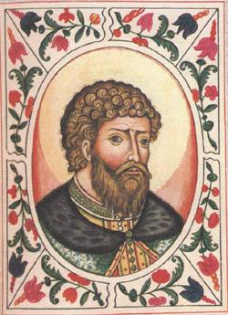 Ярослав Мудрый. Портрет из Царского титулярника, 17 век.