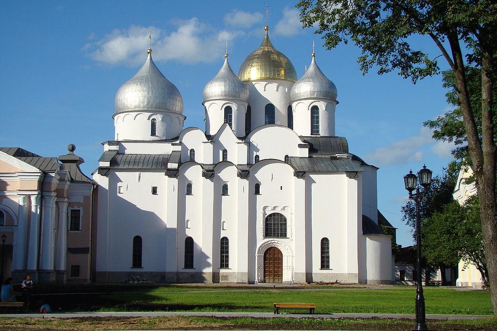 Собо́р Свято́й Софи́и — главный православный храм Великого Новгорода, созданный в 1045—1050 годах