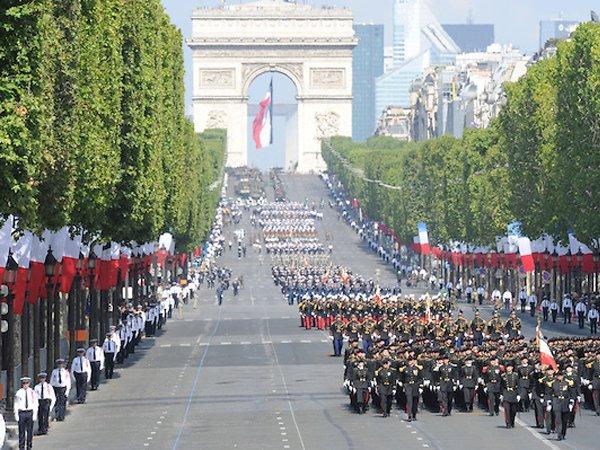 Парад в честь Дня взятия Бастилии, современность