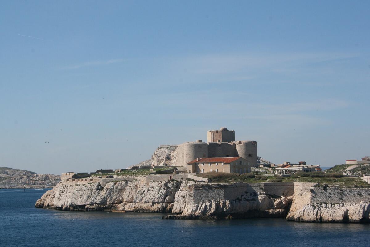 Вид на замок Иф, современность
