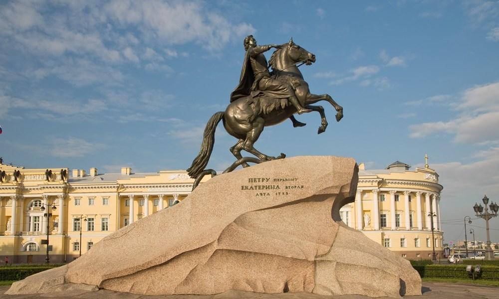 Санкт-Петербург, памятник Петру I, 1768—1770 годы