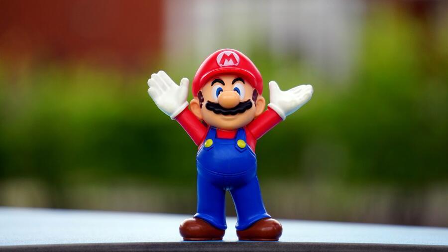 Марио - ровесник детей начала 90-х