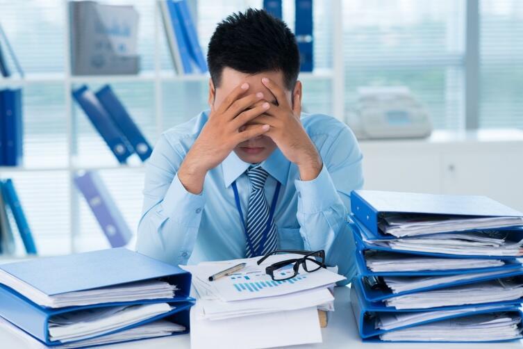 Нелюбимая скучная работа - это пытка