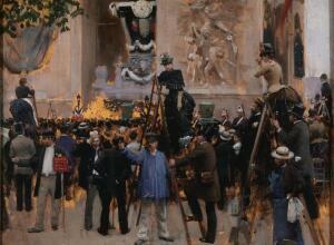 Жан Беро, «Похороны Виктора Гюго». Как это было?