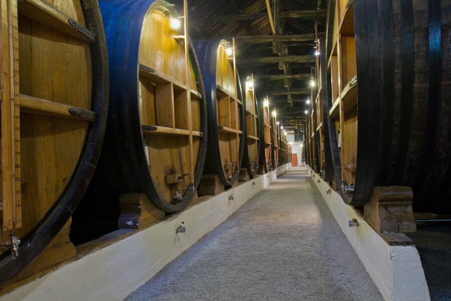 Где делают немецкое вино?