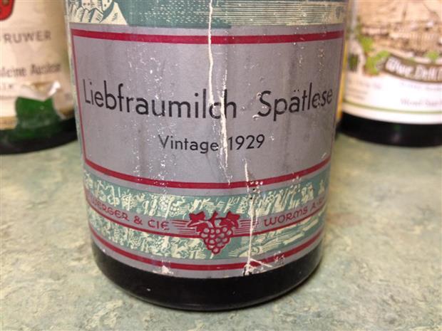 «Liebfraumilch», либфраумильх - известный немецкий бренд