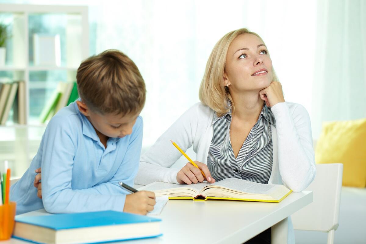 Нельзя просто посадить ребёнка дома, дать книжку - необходим четкий учебный план