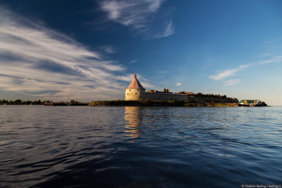 Исток Невы, крепость Орешек