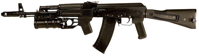 АК-74М с подствольным гранатомётом ГП-25(30)