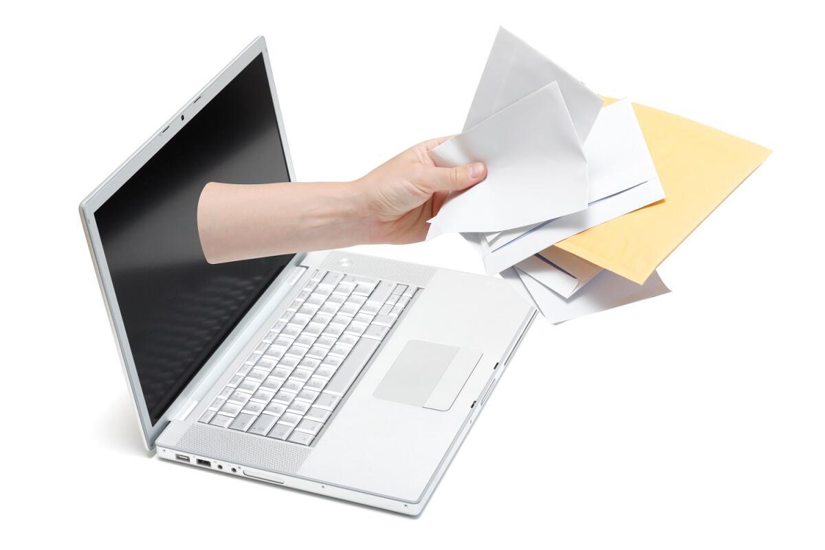 Не оставляйте свой электронный адрес в свободном доступе, иначе вас завалит тоннами спама