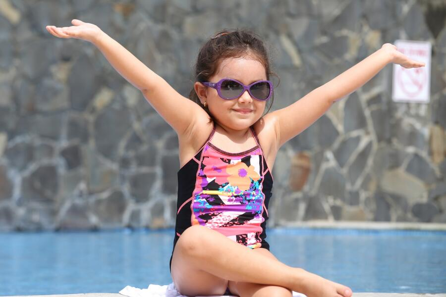 Как научить ребенка  плавать за один урок?