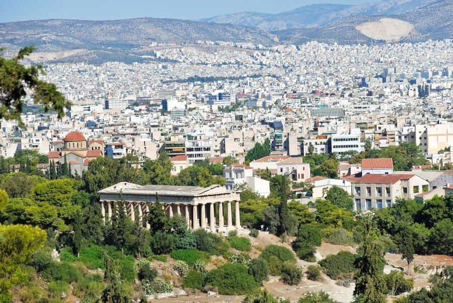 Город Афины, храм Гефеста