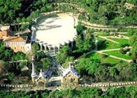 Сказочный парк Гуэль, созданный А.Гауди. Теперь в нем и Дом-музей архитектора