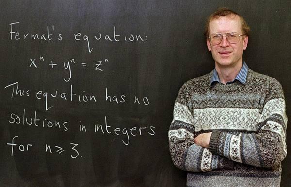 Эндрю Уайлс - человек, доказавший теорему Ферма