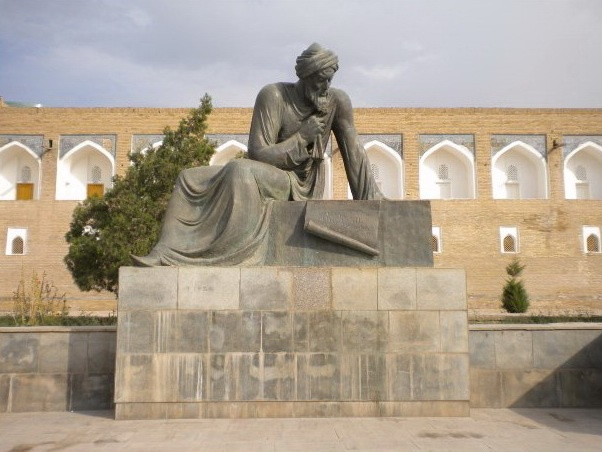 Памятник Мухаммаду аль-Хорезми, Хива (Узбекистан)
